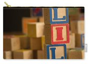 Lily - Alphabet Blocks Carry-all Pouch