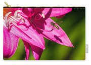 Lily And Fly Carry-all Pouch