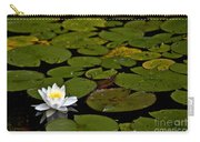 Lily And Pads Carry-all Pouch