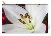 lily and Pyracantha Carry-all Pouch by Garry Gay