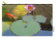 Lily And The Gold Fish Carry-all Pouch