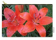 Lily Duet After The Rain Carry-all Pouch