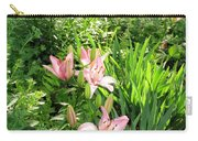 Lily Garden Carry-all Pouch