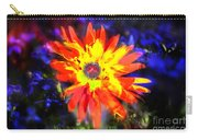 Lily In Vivd Colors Carry-all Pouch by Gunter Nezhoda