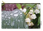 Lily Of The Valley After The Rain Carry-all Pouch