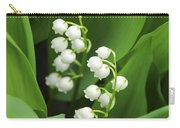 Lily-of-the-valley  Carry-all Pouch by Elena Elisseeva