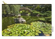 Lily Pad Garden - Japanese Garden At The Huntington Library. Carry-all Pouch