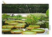 Lily Pad Garden Carry-all Pouch