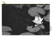 Lily Pad In Bloom Carry-all Pouch