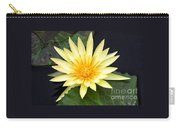 Lily Pad Yellow Carry-all Pouch