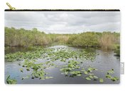 Lily Pads Floating On Water, Anhinga Carry-all Pouch