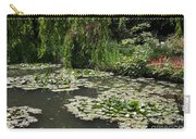 Lily Pads Monets Garden Carry-all Pouch