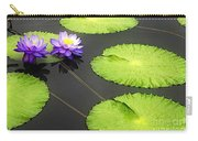 Lily Pads Purple Carry-all Pouch