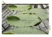 Lily Pads With Reflection Of Conservatory Roof Carry-all Pouch