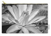 Lily Petals - Bw Carry-all Pouch