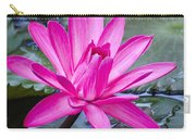 Lily Petals Carry-all Pouch by Carolyn Marshall