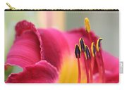 Lily Photo - Flower - Rusty Red Carry-all Pouch