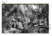 Lily Pond Bw Carry-all Pouch