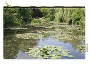 Lily Pond - Monets Garden Carry-all Pouch