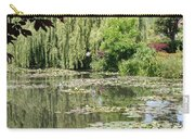 Lily Pond - Monets Garden - France Carry-all Pouch