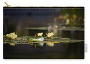 Lily Pond Carry-all Pouch by Peter Tellone