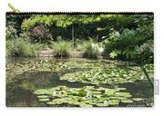 Lily Pond View Monets Garden Carry-all Pouch