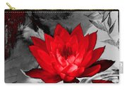 Lily Red And Koi Carry-all Pouch