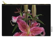 Lily With Buds Carry-all Pouch