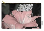 Lily With Butterly  Carry-all Pouch