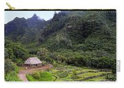 Limahuli Taro Fields In Kauai Carry-all Pouch