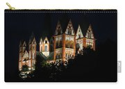 Limburg Cathedral At Night Carry-all Pouch