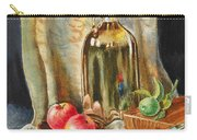 Lime And Apples Still Life Carry-all Pouch