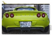 Lime Green Lotus Carry-all Pouch