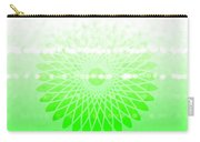 Lime Green Spirograph Carry-all Pouch