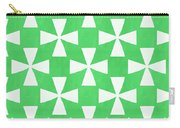 Lime Twirl Carry-all Pouch
