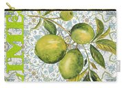 Limes On Damask Carry-all Pouch