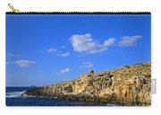 Limestone Rock, Mediterranean Sea, Malta Carry-all Pouch