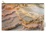 Limestone Terraces Yellowstone National Park Carry-all Pouch