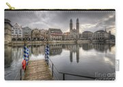 Limmat River Reflections Carry-all Pouch