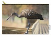 Limpkin On The Boardwalk Carry-all Pouch