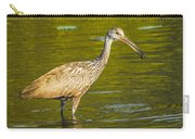 Limpkin With A Snack Carry-all Pouch