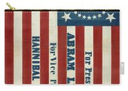 Lincoln 1860 Presidential Campaign Banner Carry-all Pouch