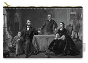 Lincoln And Family Carry-all Pouch
