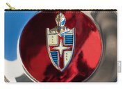 Lincoln Capri Wheel Emblem Carry-all Pouch by Jill Reger