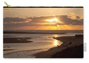 Lincoln City Sunset Carry-all Pouch by John Daly
