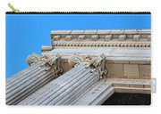 Lincoln County Courthouse Columns Looking Up 01 Carry-all Pouch
