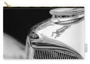 Lincoln Hood Ornament - Grille Emblem -1187bw Carry-all Pouch
