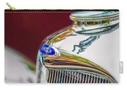 Lincoln Hood Ornament - Grille Emblem -1187c Carry-all Pouch by Jill Reger