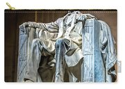 Lincoln In Memorial Carry-all Pouch