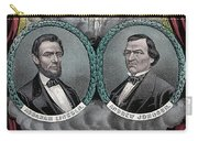 Lincoln Johnson Campaign Poster Carry-all Pouch by Marvin Blaine